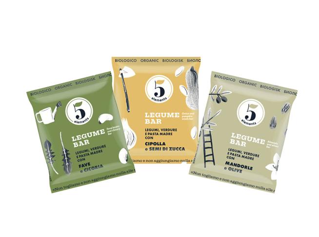 packaging sostenibile per snack